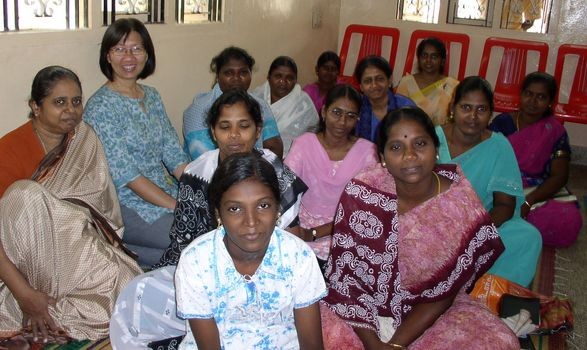 Chennai Church 03 - Church gathering in Madhavaram